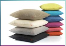 Make attractive pillows from the pillow cover